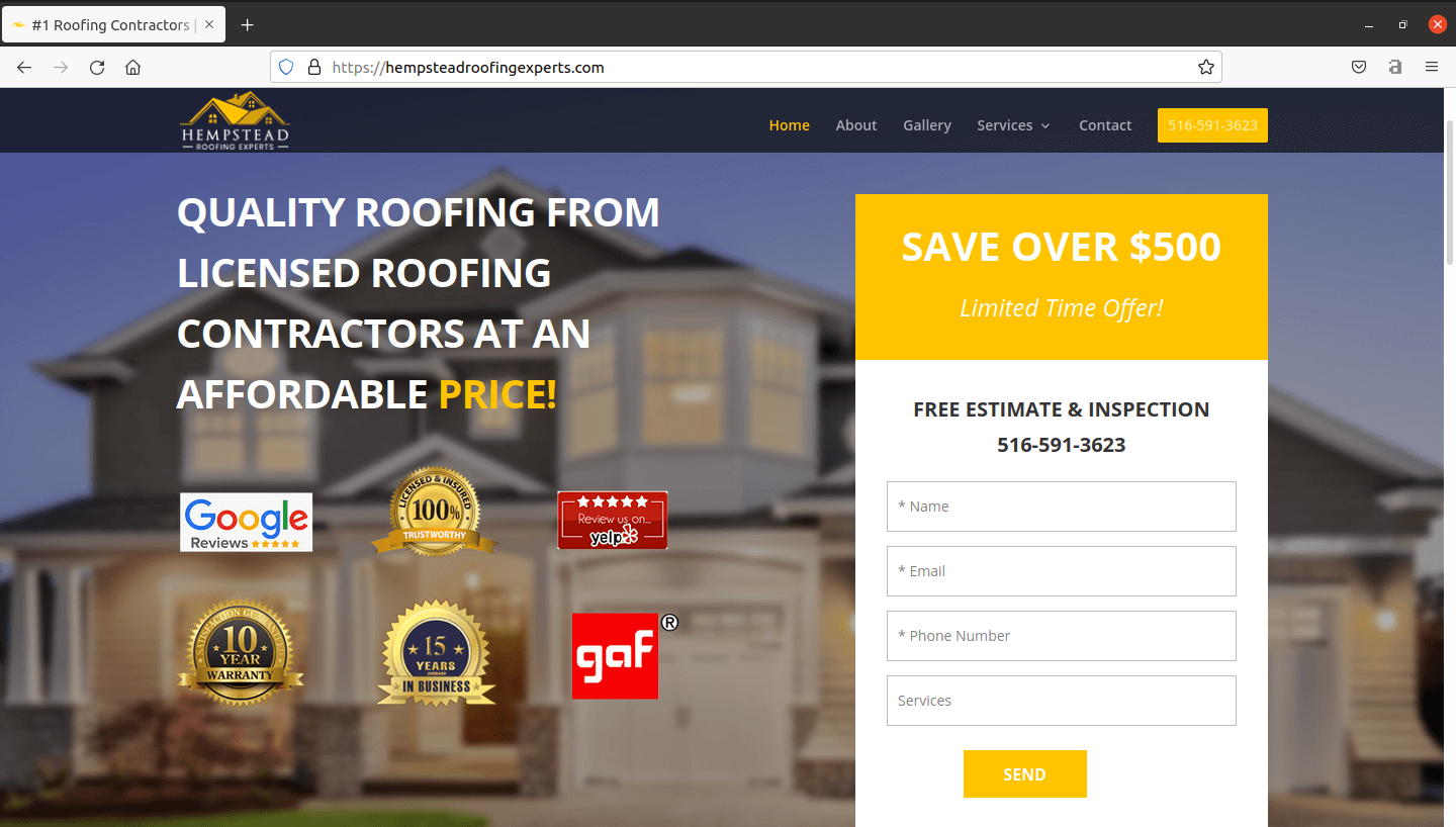 Hempstead Roofing Experts
