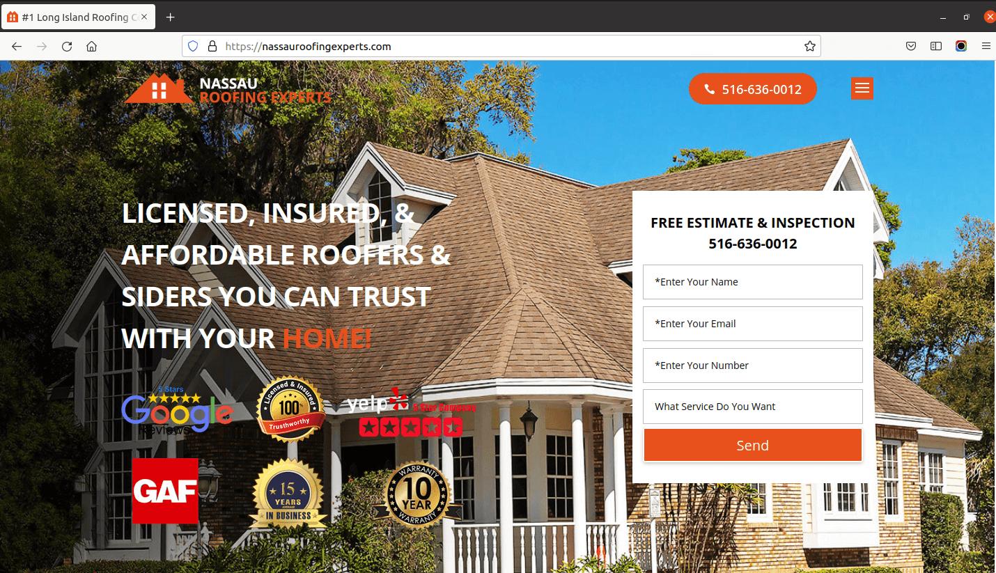 Nassau Roofing Experts