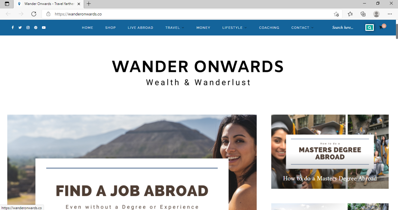 Wander Onwards